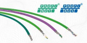 Profibus and Profinet cables
